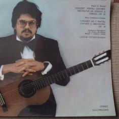 Costas Cotsiolis Concerte pentru chitara si orchestra disc vinyl lp muzica - Muzica Clasica electrecord, VINIL