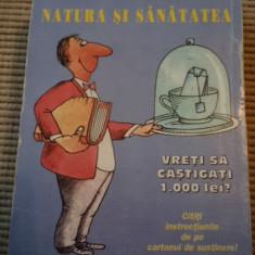 Calendar 2007 natura si sanatate de colectie hobby desene ilustrat - Calendar colectie