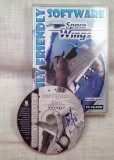 JOC PC CD-ROM ARCADE = SPACE WINGS =  (TV)  PACHET COMPLET ORIGINAL PENTRU COLECTIONARI, Toate varstele, Single player