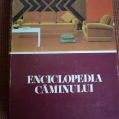 ENCICLOPEDIA CAMINULUI 1975 editura stiintifica si enciclopedica amenajari hobby - Carte amenajari interioare