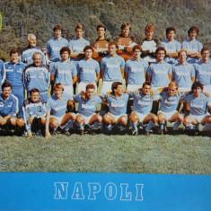 Foto - echipa de fotbal SCC NAPOLI 1988 (Inclusiv Maradona)
