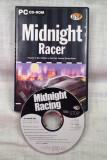 JOC PC CD-ROM RACING = MIDNIGHT RACER  =  (TV)  PACHET COMPLET ORIGINAL PENTRU COLECTIONARI, Curse auto moto, 3+, Single player