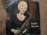 Ingela brander recital saxofon twist imre electrecord vinyl single disc muzica, VINIL