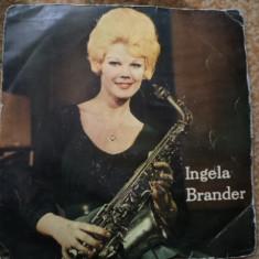Ingela brander recital saxofon twist imre electrecord vinyl single disc muzica - Muzica Pop electrecord, VINIL