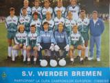 Foto - echipa de fotbal WERDER BREMEN `88-`89