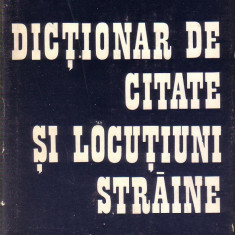 Barbu Marian-Dictionar Altele de citate si locutiuni straine