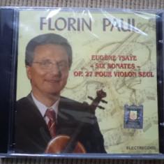 Florin paul vioara Muzica Clasica electrecord eurene ysaye six sonates op 27 cd disc sigilat