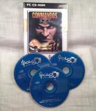 JOC PC CD-ROM STRATEGY = COMMANDOS 2: MEN OF COURAGE  =  (TV)  PACHET COMPLET ORIGINAL PENTRU COLECTIONARI, Shooting, 16+, Single player