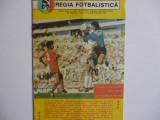 """Program Sportul - """"U"""" Craiova - octombrie 1989"""