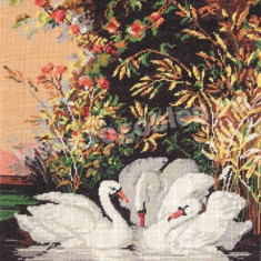 Idila lebedelor - Goblen