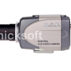 Camera CCTV Supraveghere Video 700TVL 8MM BOX CS MOUNT, Interior, Cu fir, Analogic, Color, Box/Body