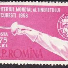 Romania 1958 - Scrima,serie completa,neuzata,cat.nr.1570