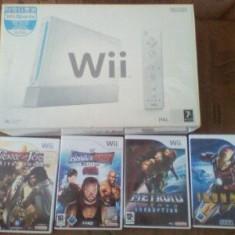 Vand Nintedo Wii+ 4 Jocuri