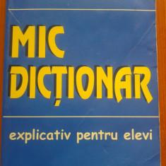MIC DICTIONAR EXPLICATIV PENTRU ELEVI - Mihaela Marin - DEX