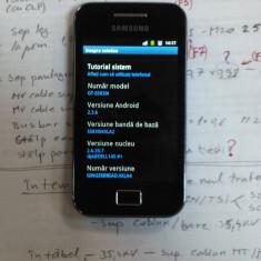 VAND/SCHIMB SAMSUNG GALAXY ACE ( S5830i ) - Telefon mobil Samsung Galaxy Ace, Negru, Neblocat