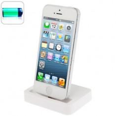 29. Docking station iPhone 5 alb - Dock telefon Anymode