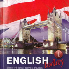 ENGLISH TODAY NR 4 (DVD + CARTE + CD) litera