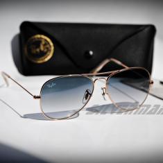 Ochelari de soare Ray Ban Aviator RB3025 01/32, Unisex, Protectie UV 100%