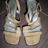 Pantofi eleganti LINEA SUPREMO; marime 40 (26 cm talpic, 5.5 cm inaltime toc)