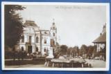 Targoviste (Dambovita),Palatul Primariei,circulata la Bucuresti in 1930,timbru Regele Mihai,stare foarte buna