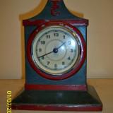 Ceas auto mecanic, marca VDO, anii 20-30 Germania - Ceas de masa