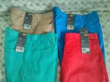 Pantaloni/ Blugi LEVI'S/LEVIS 100% ORIGINALI NOI STA-PREST W34 L32 SLIM FIT 513, 34, Bej, Rosu