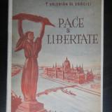 PACE SI LIBERTATE-Valerian al Oradiei anii'50 COMUNISM - Carte de calatorie
