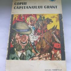 COPIII CAPITANULUI GRANT JULES VERNE - Carte educativa