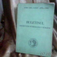 Buletinul societatii numismatice romane1981/nr124-128/1976-1980/790pag