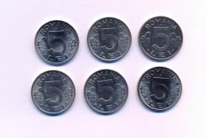 5 lei 1992 UNC