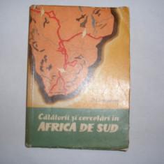 D. Livingstone - Calatorii si cercetari in Africa de Sud,m1,RF5/1,RF8/3