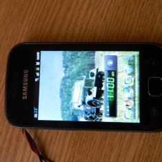 Samsung Glaxy Gio - Telefon mobil Samsung Galaxy Gio, Negru, Neblocat