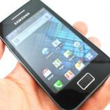 Samsung Galaxy Ace - Telefon mobil Samsung Galaxy Ace, Negru, Neblocat