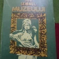 Sub Semnul Muzeului Claudia Cleja Stoicescu carte arta cultura hobby 1983