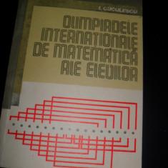 Olimpiadele internationale ale elevilor I. Cuculescu