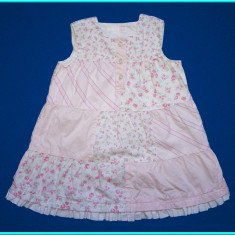 DE FIRMA → Rochie fetite, roz, de vara, marca H&M → fete | 12—18 luni | 80—86 cm, Marime: Alta