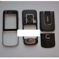 Vand Carcasa Nokia 6220 Navigator Noua Completa Classic Clasic Neagra Negru Black