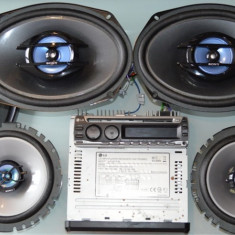 LG Cd Mp3 auto + 4 Boxe,Sony Explod