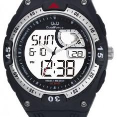 Ceas Q&Q barbatesc cod GW78J002Y - pret 149 lei (NOU; ORIGINAL) - Ceas barbatesc Q&Q, Sport, Quartz, Cauciuc, Alarma, Analog & digital