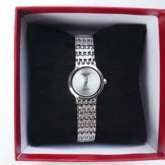 Ceas dama Longines CU BRATARA METALICA LG DS 201206 S, Quartz si cutie pt ceas, Elegant, Inox, Analog