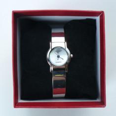Ceas dama Longines CU BRATARA METALICA LG DW 201201 S, Quartz si cutie pt ceas, Elegant, Inox, Analog