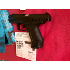 Pistol airsoft Umarex WALTHER P99 DAO cu recul, propulsie cu CO2