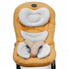 Balansoar Chicco Mia - Balansoar interior Chicco, 6-12 luni, Textil, Galben