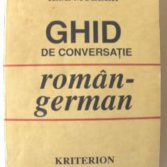 """GHID DE CONVERSATIE ROMAN - GERMAN"", Ilse Muller, 1992. Absolut nou, Alta editura"