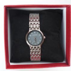 Ceas dama Longines CU BRATARA METALICA LONGI.. DS 201205 S, Quartz si cutie pt ceas, Elegant, Inox, Analog