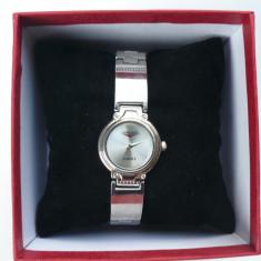 Ceas dama Longines CU BRATARA METALICA LG DS 201203 S, Quartz si cutie pt ceas, Elegant, Inox, Analog