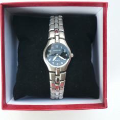 Ceas dama Longines CU BRATARA METALICA LG DB 201204 S, Quartz si cutie pt ceas, Elegant, Inox, Analog
