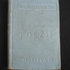 MIHAIL ZAMPHIRESCU - POEZII  2 volume colegate, editia a II-a, (1860-1873) + ALEXANDRU DEPARATEANU - DORURI SI AMORURI {1896} 2 volume coligate