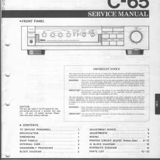 Manual service preamplificator YAMAHA C65 - Carti Electrotehnica