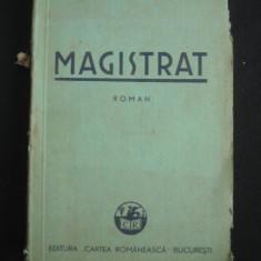 LAZAR BADESCU - MAGISTRAT {1938}